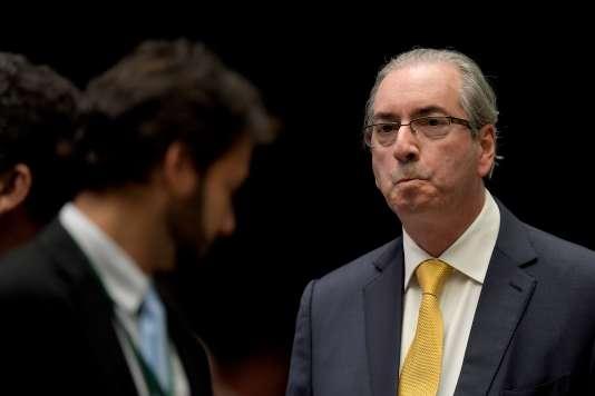 Eduardo Cunha le 12 septembre 2016.