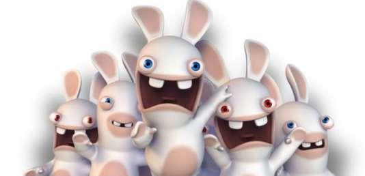 Les lapins crétins, une des franchises iconoclastes du portefeuille Ubisoft.
