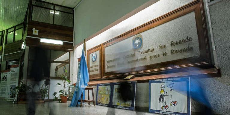 A l'intérieur du Tribunal pénal international pour le Rwanda, à Arusha (Tanzanie), le 3 décembre 2014.