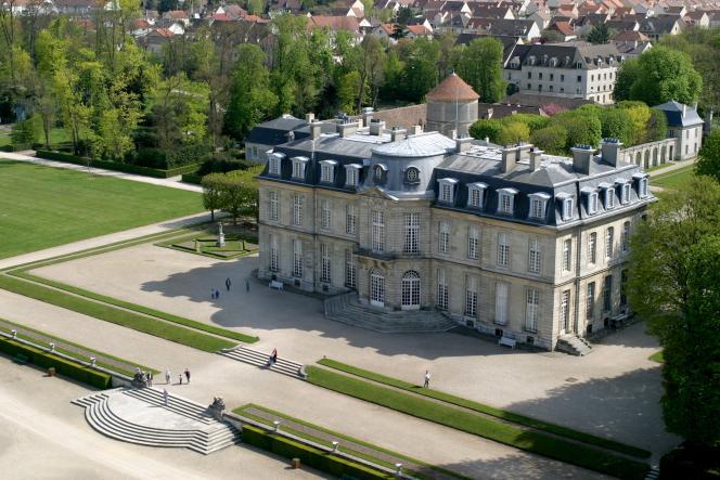 Le château de Champs-sur-Marne.