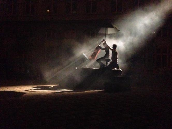 « Nuit blanche», extrait du spectacle Odyssée de Sonia Wieder Atherton