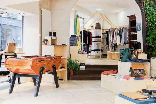Le concept store La Garçonnière, ouvert au printemps.