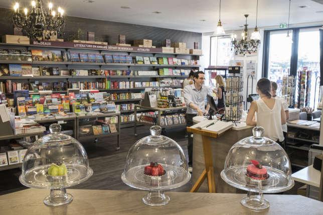 La librairie Féret spécialisée dans la gastronomie et le vin.