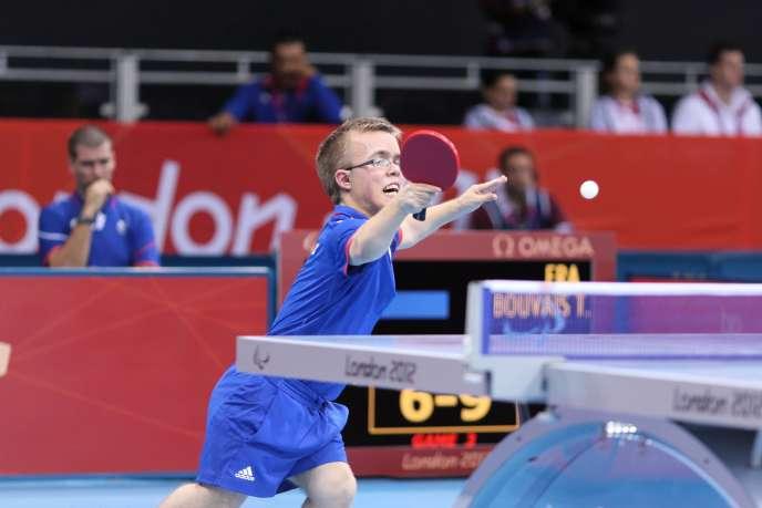 Thomas Bouvais lors des Jeux de Londres en 2012.