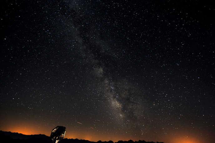 La Voie lactée, enaoût2010 depuis l'observatoire du pic du Midi.