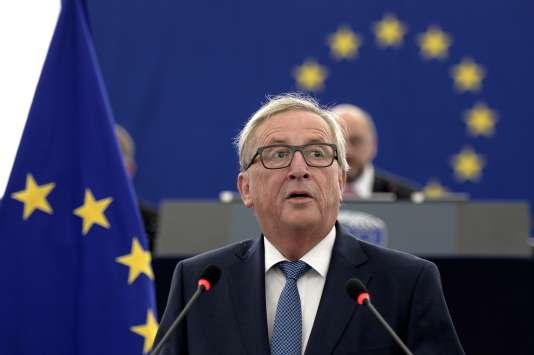 Le président de la Commission européenne, Jean-Claude Juncker, mercredi14 septembre.