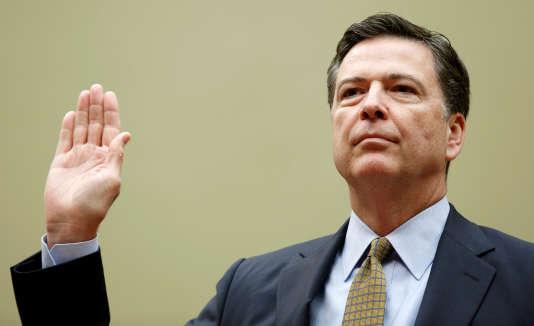 Le directeur du FBI James Comey à Washington le 7 juillet.