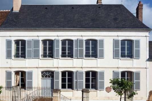 La maison de Colette restaurée.