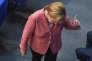La chancelière Angela Merkel, à Berlin, le 6 septembre.