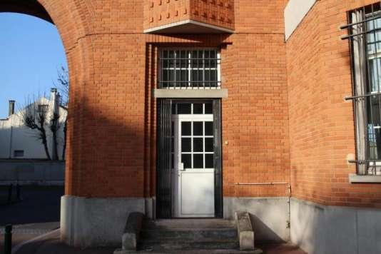 L'entrée de la loge du gardien de la cité-jardin de Suresnes (Hauts-de-Seine), devenu appartement témoin.