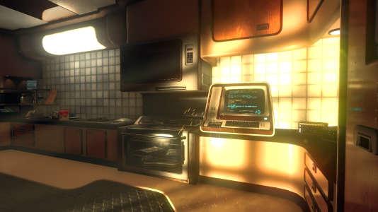 Des portes aux ascenseurs en passant par les archives du vaisseau, tout dans «Event[0]» se pilote via les terminaux Kaizen.