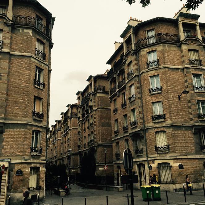Le programme de HBM construit en 1913 dans le 13e arrondissement de Paris par Jean Rous pour l'Assistance publique.