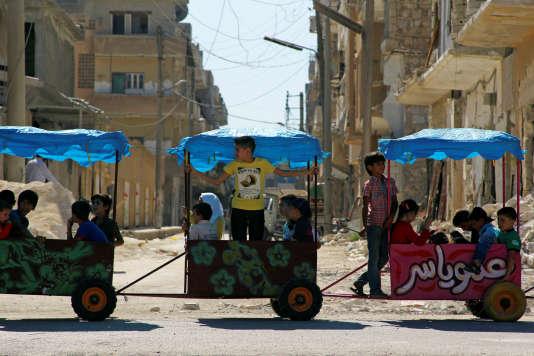 A Idlib (Syrie), le 14 septembre, au troisième jour de trêve.