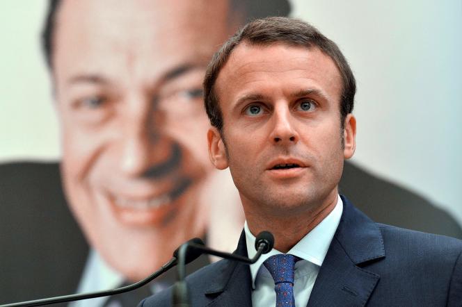 Emmanuel Macron:«Michel Rocard est celui qui m'a fait venir à l'action politique.»