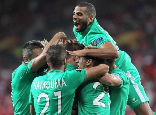 Saint-Etienne a arraché le match nul en fin de match face à Mayence.
