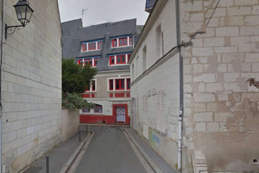L'Etoile bleue, une ancienne maison close, est devenue le siège de la Jeune chambre économique de Tours (Indre-et-Loire).