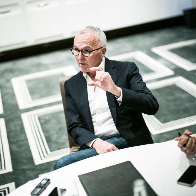 Frank McCourt, personnalité du monde des affaires, président du McCourt Group et nouveau propriétaire de l'Olympique de Marseille Paris, le 14 septembre 2016.