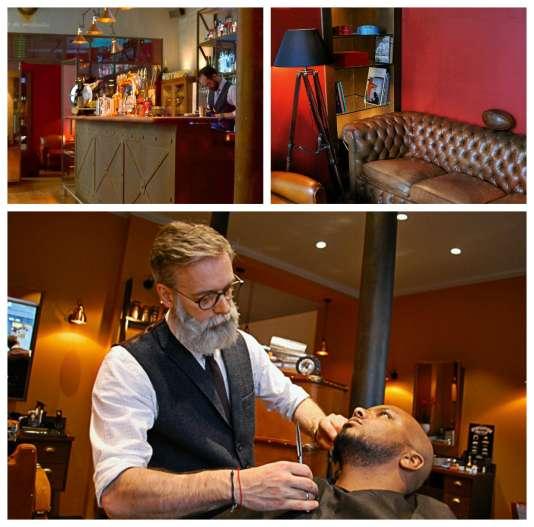 Barber shop, fumoir et bar, Gentlemen 1919 veut rassembler « tous les plaisirs masculins dans un même endroit».