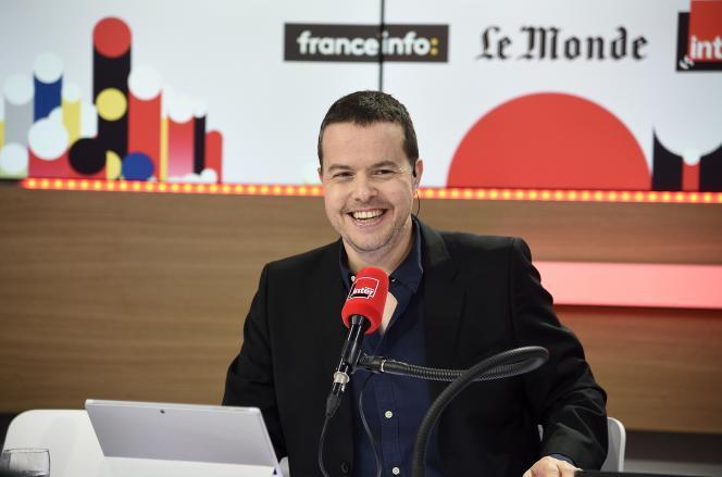 Nicolas Demorand à France Inter.
