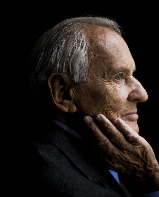Jean d'Ormesson, en 2008.