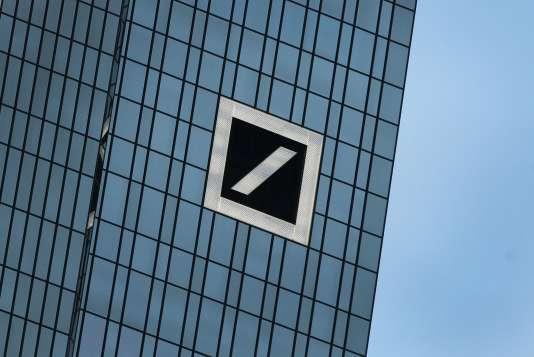 Le siège de la Deutsche Bank à Francfort, en janvier 2016.