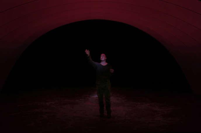 «Rêve et Folie», de l'Autrichien Georg Trakl, dans la mise en scène de Claude Régy, repose entièrement sur l'acteur Yann Boudaud.
