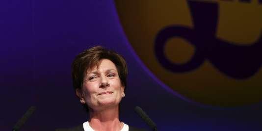 Diane James, nouvelle présidente du UKIP, vendredi 16 septembre 2016.
