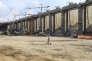 Construction d'une centrale hydroélectrique à Belo Monte, dans l'Etat fédéral du Para (Brésil), en 2014.