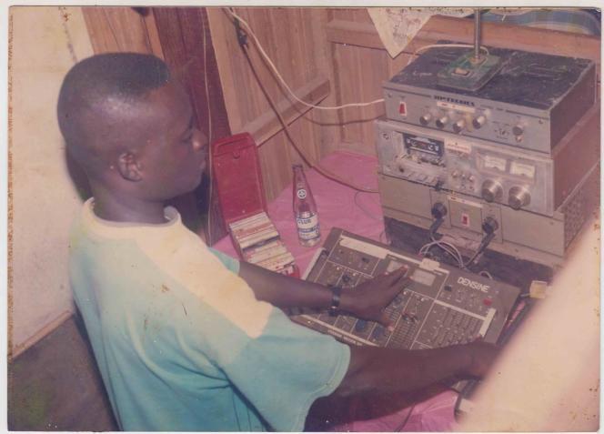 Ishmael Abbey, aka DJ Katapila, dans les années 1980.