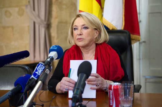 Maryse Joissains Masini, maire Les Républicains d'Aix-en-Provence (Bouches-du-Rhône).