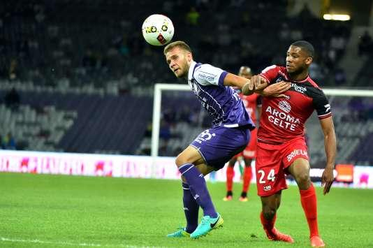 Alexis Blin face à Marcus Coco, le 17 septembre à Toulouse.
