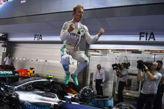 Nico Rosberg le 18 septembre à Singapour.