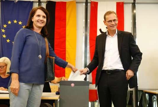Le maire de Berlin, Michael Müller, devrait être reconduit dans ses fonctions à la suite de la victoiire de son parti, le SPD, aux élections régionales.