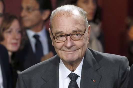 Jacques Chirac en 2014.