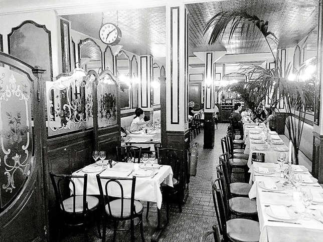 Restaurant Le Petit Lutetia.