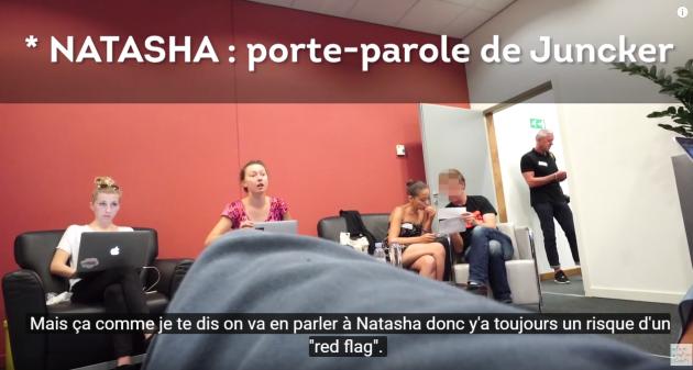 Extrait de la vidéo de Laetitia Nadji.