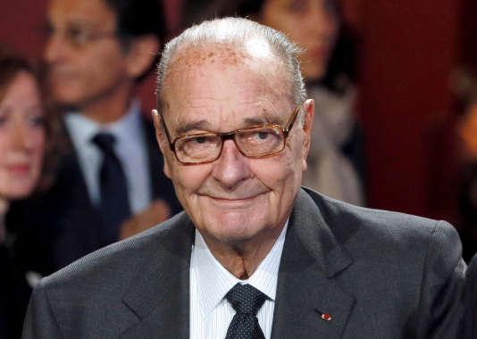 Jacques Chirac, en 2014.