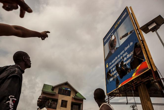 Lors des manifestations de partisans de l'opposition à Joseph Kabila, le 19 septembre 2016, à Kinshasa.