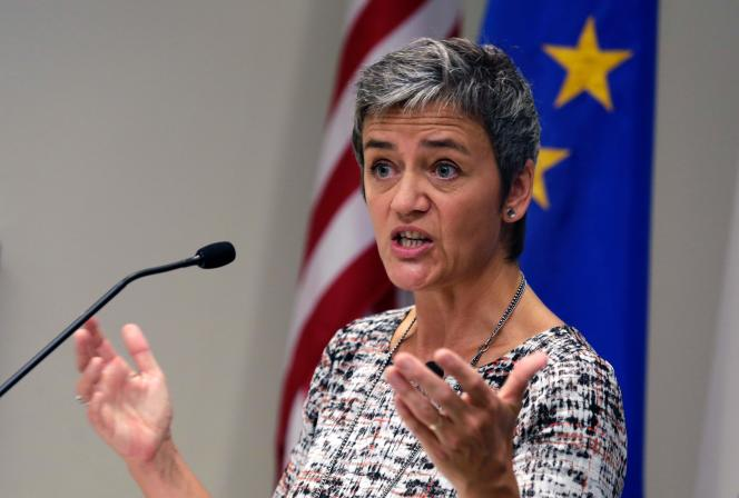 La commissaire européenne à la concurrence, Margrethe Vestager, en déplacement à Washingtonle 19 août.