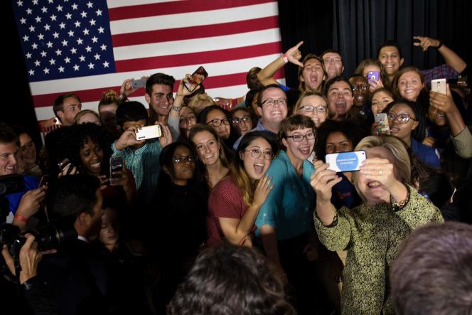 A la question « A qui faites-vous confiance pour l'utilisation des armes nucléaires ? », une majorité d'électeurs se prononcent en faveur deHillary Clinton.