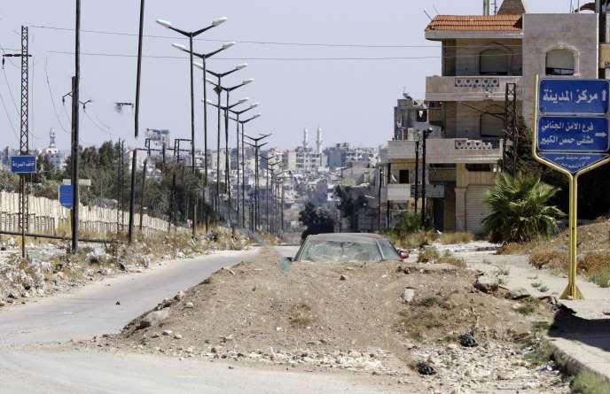 Le quartier d'Al-Waer, le 19 septembre.