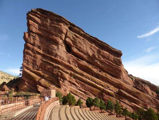 Le Red Rocks Amphitheatre, avec ses 10 000 places, est la plus grande scène de plein air des Etats-Unis.
