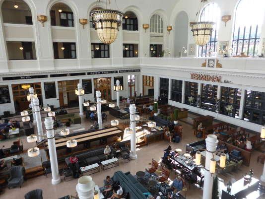 La gare Union Station installée dans le coeur historique de Denver.