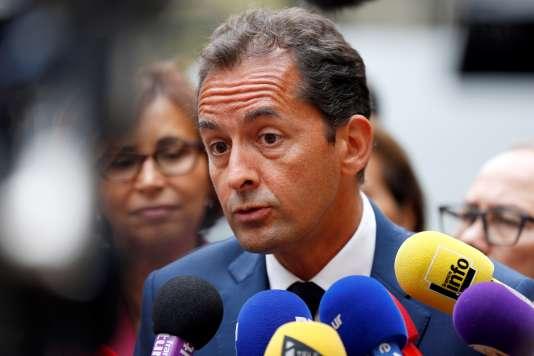 L'auteur du rapport de l'Institut Montaigne, Harim El Karoui, à Paris, le 29 août.