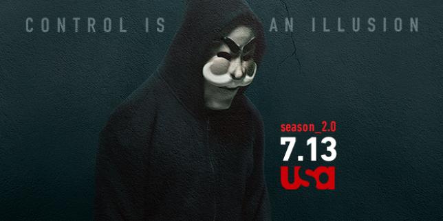 « Mr. Robot» s'inspire des Anonymous, parmi d'autres références.