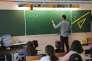 Dans ue école primaire en Charentes Maritimes le 1er septembre 2016.