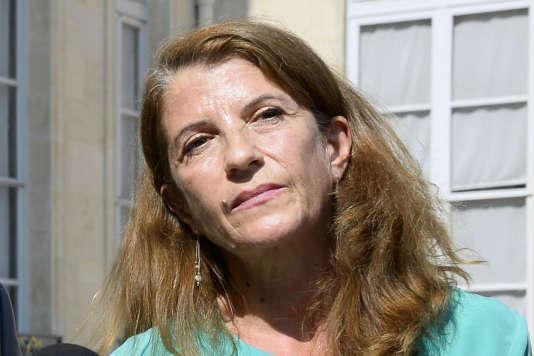 La présidente de Médecins du monde, Françoise Sivignon, le 24 juillet 2014.