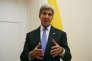 Le secrétaire d'Etat américainJohn Kerry à New York, le 19 septembre.