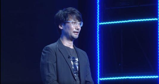 Hideo Kojima, lors de la conférence de l'éditeur Sony au Tokyo Game Show.