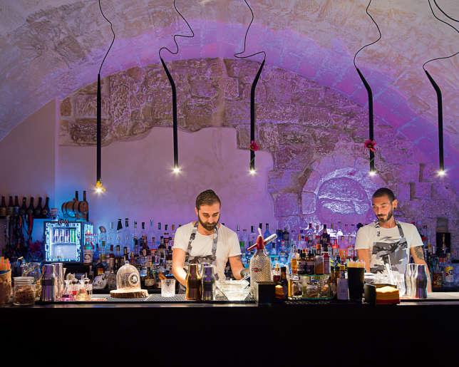Le bar Quarantacinque.